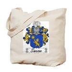 Simeone Family Crest Tote Bag