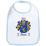 Simeone Family Crest Bib