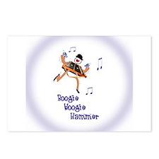 Boogie Woogie Hammer Postcards (Package of 8)