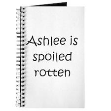 Funny Ashlee Journal