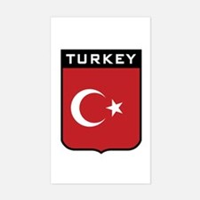 Turkey Rectangle Decal