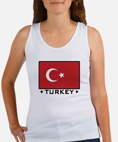 Flag of Turkey Women's Tank Top