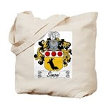 Simoni Family Crest Tote Bag