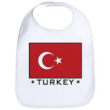 Flag of Turkey Bib