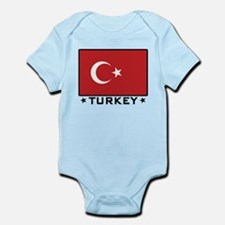 Flag of Turkey Infant Bodysuit