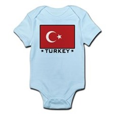 Flag of Turkey Onesie