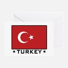 Flag of Turkey Greeting Cards (Pk of 10)
