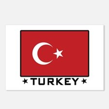 Flag of Turkey Postcards (Package of 8)