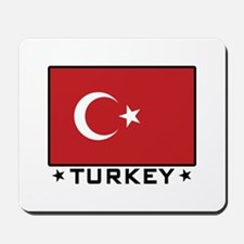 Flag of Turkey Mousepad
