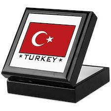 Flag of Turkey Keepsake Box