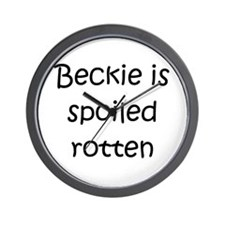 Becky name Wall Clock