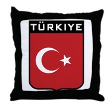 Turkiye Throw Pillow