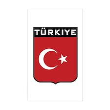 Turkiye Rectangle Decal