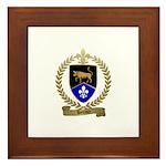 DEVAUX Family Crest Framed Tile