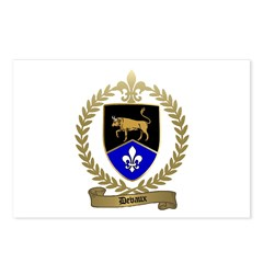 DEVAUX Family Crest Postcards (Package of 8)