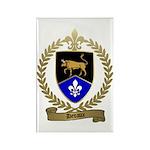 DEVAUX Family Crest Rectangle Magnet