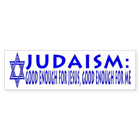 The Ultimate Jewish Bumper Sticker