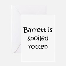 Cute Barrett Greeting Card