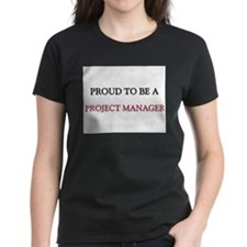 Proud to be a Project Manager Women's Dark T-Shirt