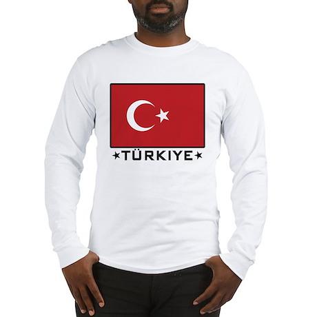 Flag of Turkiye Long Sleeve T-Shirt