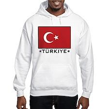 Flag of Turkiye Hoodie