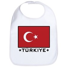Flag of Turkiye Bib