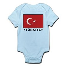 Flag of Turkiye Onesie