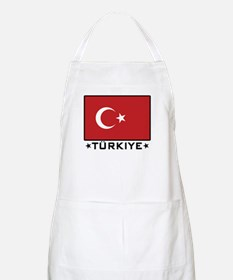 Flag of Turkiye BBQ Apron
