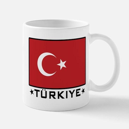 Flag of Turkiye Mug