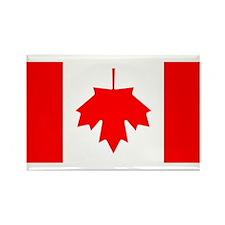 Inverted Canadian Flag Rectangle Magnet