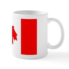 Inverted Canadian Flag Mug