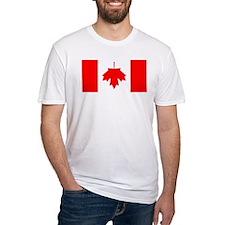 Inverted Canadian Flag Shirt