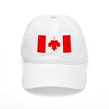 Inverted Canadian Flag Baseball Cap