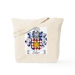 Solari Family Crest Tote Bag