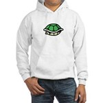 Green Shell Hooded Sweatshirt