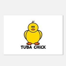 Tuba Chick Postcards (Package of 8)