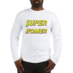 Super homer Long Sleeve T-Shirt