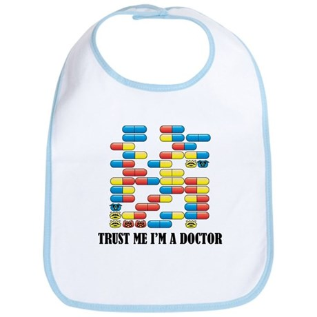 Trust Me I'm A Doctor Bib