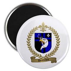 DESROCHES Family Crest Magnet