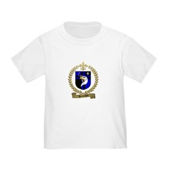 DESROCHES Family Crest Toddler T-Shirt