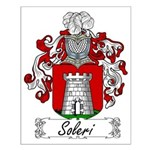 Soleri Family Crest Small Poster