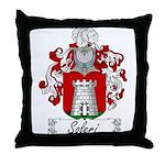 Soleri Family Crest Throw Pillow