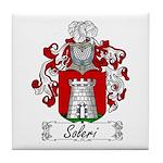 Soleri Family Crest Tile Coaster
