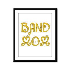 Band Mom Framed Panel Print
