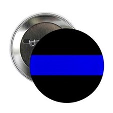 """The Thin Blue Line 2.25"""" Button (10 pack)"""