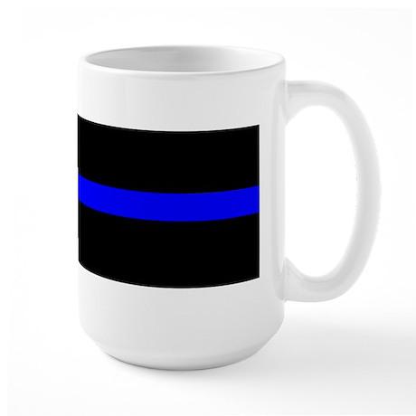 The Thin Blue Line Large Mug
