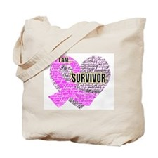 I am...Survivor Tote Bag