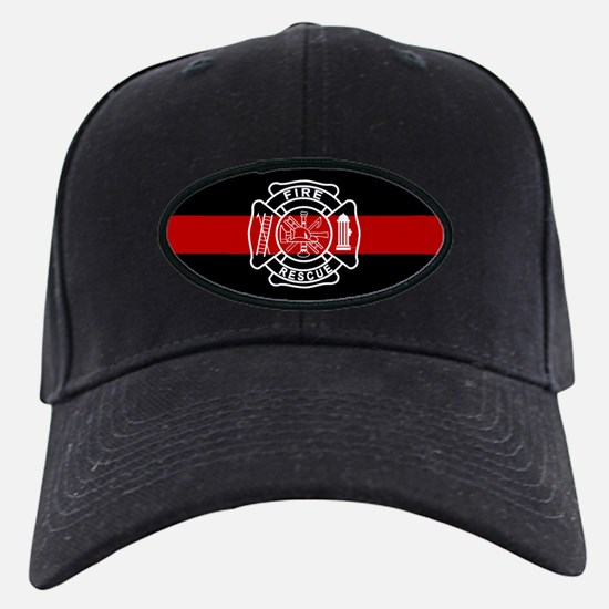Firefighter Thin Red Line Baseball Hat