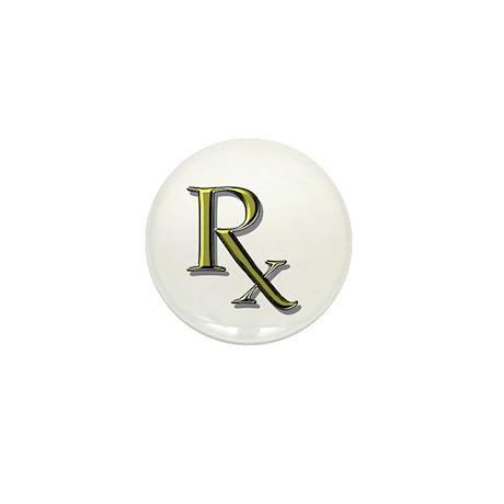 Pharmacy Rx Mini Button (10 pack)