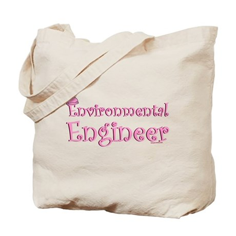 Pink Environmental Tote Bag